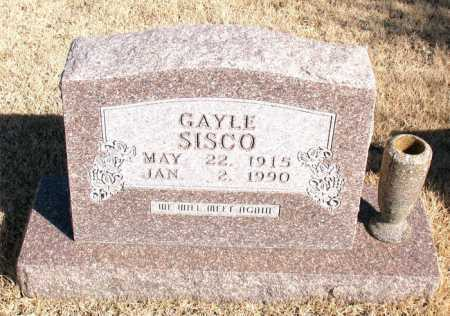 SISCO, ARBIE GAYLE - Newton County, Arkansas | ARBIE GAYLE SISCO - Arkansas Gravestone Photos