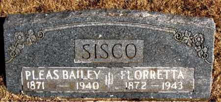 SISCO, FLORRETTA - Newton County, Arkansas | FLORRETTA SISCO - Arkansas Gravestone Photos