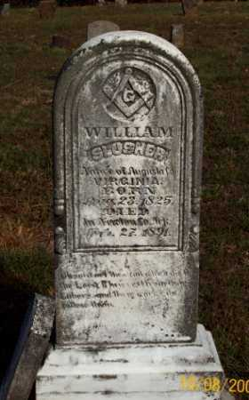 SLUSHER, WILLAM - Newton County, Arkansas | WILLAM SLUSHER - Arkansas Gravestone Photos