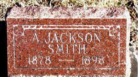 SMITH, A.  JACKSON - Newton County, Arkansas | A.  JACKSON SMITH - Arkansas Gravestone Photos