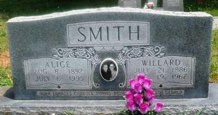 SMITH, WILLARD - Newton County, Arkansas | WILLARD SMITH - Arkansas Gravestone Photos