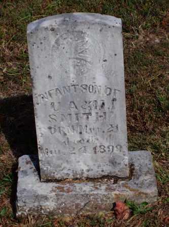 SMITH, INFANT SON - Newton County, Arkansas | INFANT SON SMITH - Arkansas Gravestone Photos