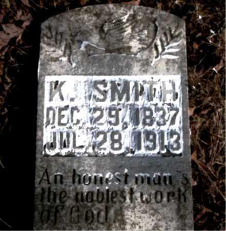 SMITH, K. - Newton County, Arkansas | K. SMITH - Arkansas Gravestone Photos