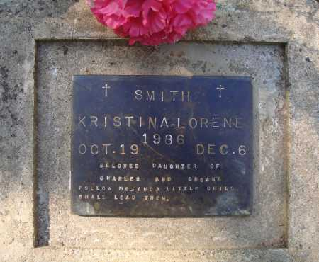 SMITH, KRISTINA LORENE - Newton County, Arkansas | KRISTINA LORENE SMITH - Arkansas Gravestone Photos