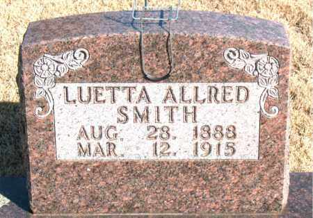 SMITH, LUETTA - Newton County, Arkansas | LUETTA SMITH - Arkansas Gravestone Photos