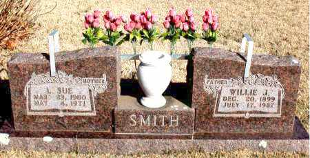 SMITH, W/ILLIE J. - Newton County, Arkansas | W/ILLIE J. SMITH - Arkansas Gravestone Photos