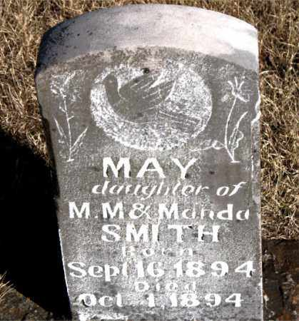 SMITH, MAY - Newton County, Arkansas | MAY SMITH - Arkansas Gravestone Photos