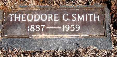 SMITH, THEODORE CLARK. - Newton County, Arkansas   THEODORE CLARK. SMITH - Arkansas Gravestone Photos