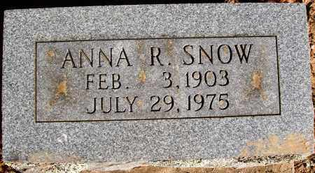 REYNOLDS SNOW, ANNA R. - Newton County, Arkansas | ANNA R. REYNOLDS SNOW - Arkansas Gravestone Photos