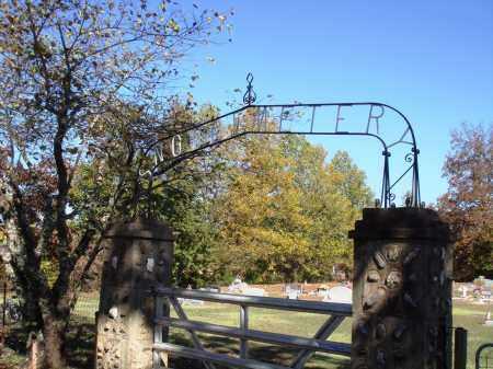 *SNOW CEMETERY GATE,  - Newton County, Arkansas |  *SNOW CEMETERY GATE - Arkansas Gravestone Photos