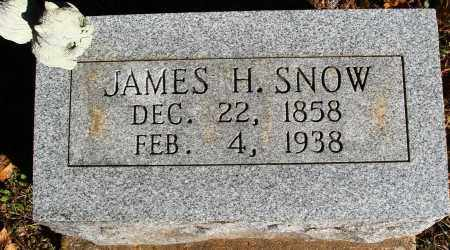 SNOW, JAMES H. - Newton County, Arkansas | JAMES H. SNOW - Arkansas Gravestone Photos