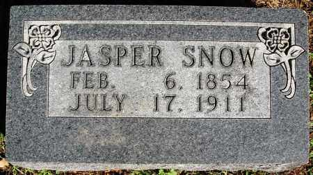 SNOW, JASPER - Newton County, Arkansas | JASPER SNOW - Arkansas Gravestone Photos