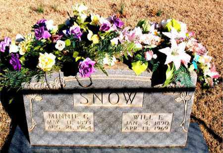 SNOW, MINNIE C. - Newton County, Arkansas | MINNIE C. SNOW - Arkansas Gravestone Photos
