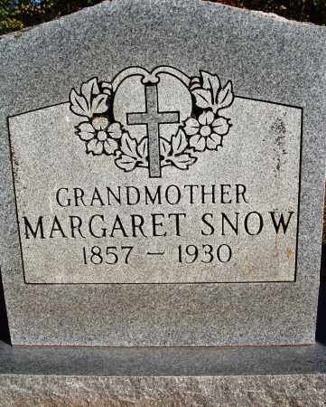 RICHARDSON SNOW, MARGARET - Newton County, Arkansas | MARGARET RICHARDSON SNOW - Arkansas Gravestone Photos