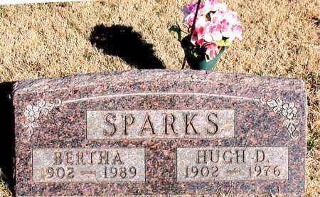 SPARKS, HUGH D. - Newton County, Arkansas | HUGH D. SPARKS - Arkansas Gravestone Photos