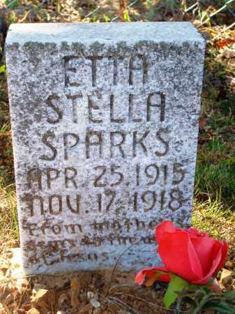 SPARKS, ETTA STELLA - Newton County, Arkansas   ETTA STELLA SPARKS - Arkansas Gravestone Photos