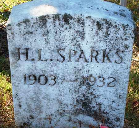SPARKS, H. L. - Newton County, Arkansas | H. L. SPARKS - Arkansas Gravestone Photos