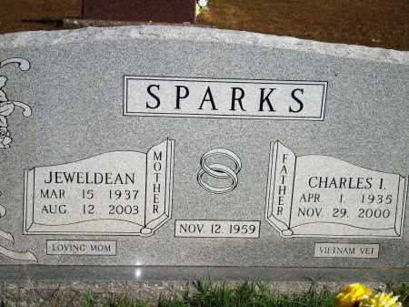 SPARKS, CHARLES I. - Newton County, Arkansas | CHARLES I. SPARKS - Arkansas Gravestone Photos