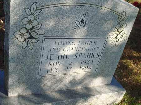 SPARKS, JEARL - Newton County, Arkansas   JEARL SPARKS - Arkansas Gravestone Photos