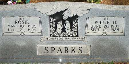 SPARKS, WILLIE D. - Newton County, Arkansas | WILLIE D. SPARKS - Arkansas Gravestone Photos