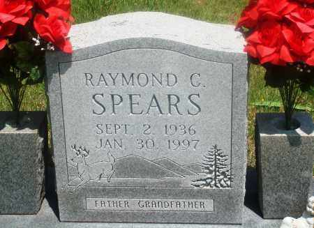 SPEARS, RAYMOND C - Newton County, Arkansas | RAYMOND C SPEARS - Arkansas Gravestone Photos