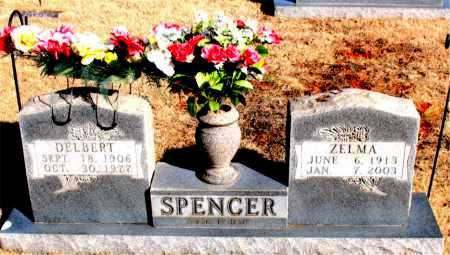 SPENCER, ZELMA - Newton County, Arkansas | ZELMA SPENCER - Arkansas Gravestone Photos