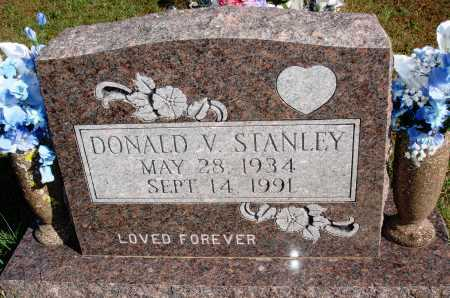 STANLEY, DONALD V. - Newton County, Arkansas | DONALD V. STANLEY - Arkansas Gravestone Photos