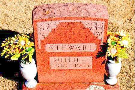 STEWART, RUTHIE I. - Newton County, Arkansas | RUTHIE I. STEWART - Arkansas Gravestone Photos