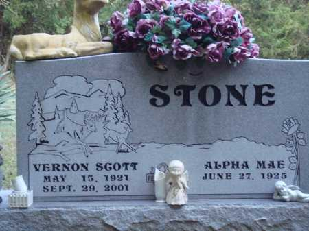 STONE, VERNON SCOTT - Newton County, Arkansas | VERNON SCOTT STONE - Arkansas Gravestone Photos