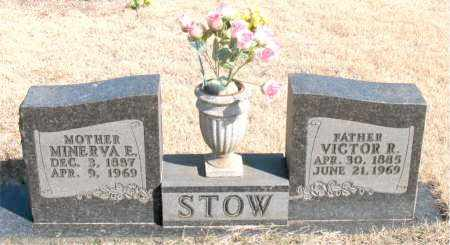 STOW, VICTOR R. - Newton County, Arkansas | VICTOR R. STOW - Arkansas Gravestone Photos