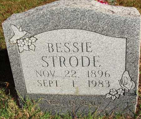 STRODE, BESSIE - Newton County, Arkansas | BESSIE STRODE - Arkansas Gravestone Photos
