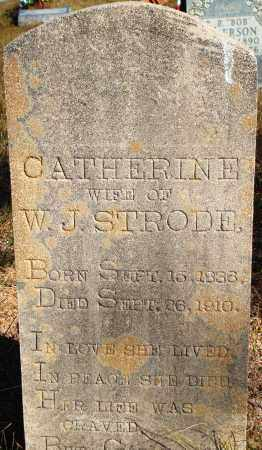 STRODE, CATHERINE - Newton County, Arkansas | CATHERINE STRODE - Arkansas Gravestone Photos