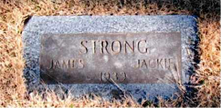STRONG, JACKIE - Newton County, Arkansas | JACKIE STRONG - Arkansas Gravestone Photos