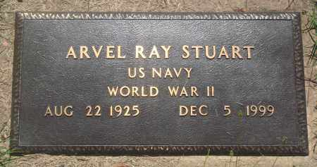 STUART (VETERAN WWII), ARVEL RAY - Newton County, Arkansas | ARVEL RAY STUART (VETERAN WWII) - Arkansas Gravestone Photos
