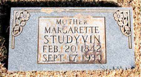 STUDYVIN, MARGARETTE - Newton County, Arkansas | MARGARETTE STUDYVIN - Arkansas Gravestone Photos