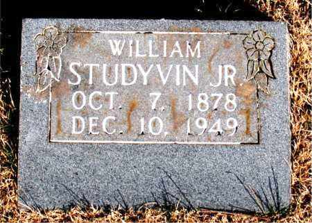 STUDYVIN JR., WILLIAM - Newton County, Arkansas | WILLIAM STUDYVIN JR. - Arkansas Gravestone Photos