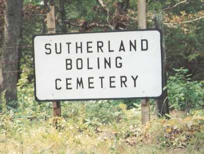 *SUTHERLAND-BOLING CEMETERY,  - Newton County, Arkansas |  *SUTHERLAND-BOLING CEMETERY - Arkansas Gravestone Photos