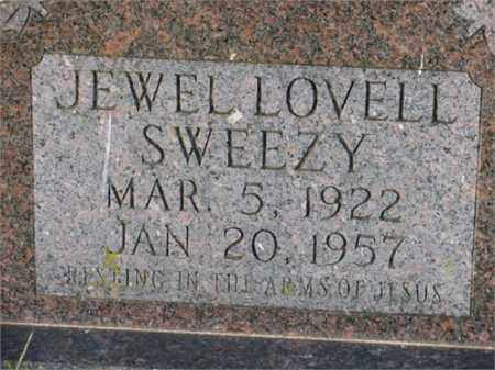 SWEEZY, JEWEL - Newton County, Arkansas | JEWEL SWEEZY - Arkansas Gravestone Photos