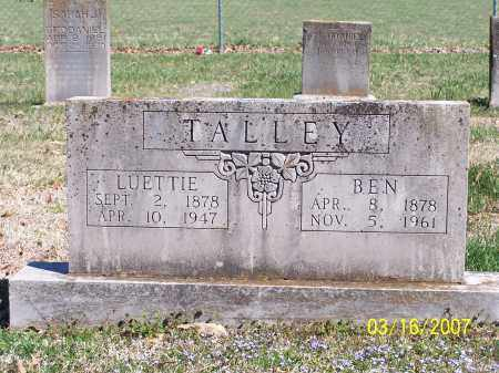 TALLEY, JAMES BENJAMIN - Newton County, Arkansas | JAMES BENJAMIN TALLEY - Arkansas Gravestone Photos