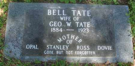 TATE, BELL - Newton County, Arkansas | BELL TATE - Arkansas Gravestone Photos