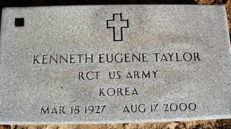TAYLOR  (VETERAN KOR), KENNETH EUGENE - Newton County, Arkansas | KENNETH EUGENE TAYLOR  (VETERAN KOR) - Arkansas Gravestone Photos