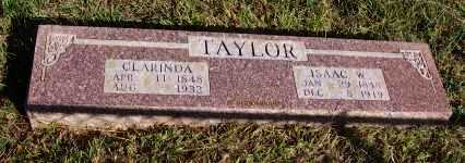 TAYLOR, ISAAC W. - Newton County, Arkansas | ISAAC W. TAYLOR - Arkansas Gravestone Photos