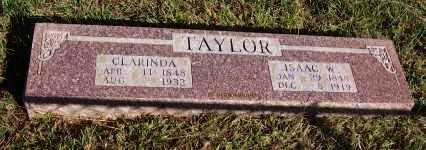 TAYLOR, CLARINDA - Newton County, Arkansas | CLARINDA TAYLOR - Arkansas Gravestone Photos