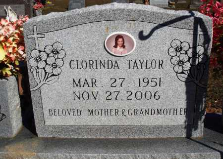TAYLOR, CLORINDA - Newton County, Arkansas | CLORINDA TAYLOR - Arkansas Gravestone Photos