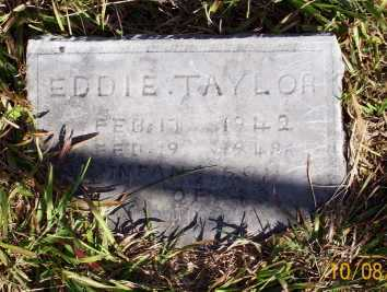 TAYLOR, EDDIE - Newton County, Arkansas | EDDIE TAYLOR - Arkansas Gravestone Photos