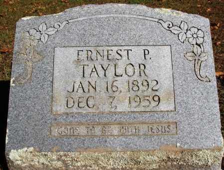TAYLOR, ERNEST P. - Newton County, Arkansas | ERNEST P. TAYLOR - Arkansas Gravestone Photos