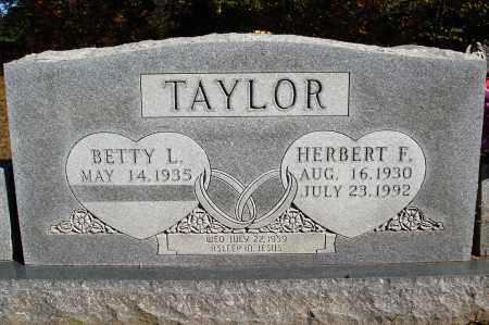 TAYLOR, HERBERT F. - Newton County, Arkansas | HERBERT F. TAYLOR - Arkansas Gravestone Photos