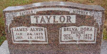TAYLOR, JAMES ALVIN - Newton County, Arkansas | JAMES ALVIN TAYLOR - Arkansas Gravestone Photos