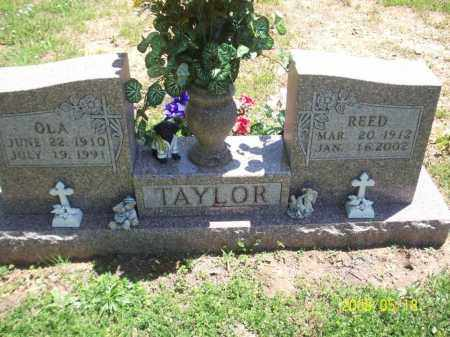 TAYLOR, OLA IDA - Newton County, Arkansas | OLA IDA TAYLOR - Arkansas Gravestone Photos