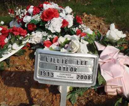 TAYLOR, LILLIE LEE - Newton County, Arkansas | LILLIE LEE TAYLOR - Arkansas Gravestone Photos